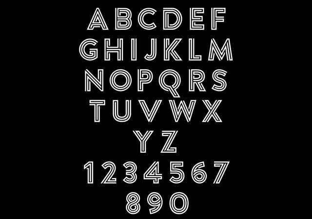 Argon: Puzzle Inspired Typeface