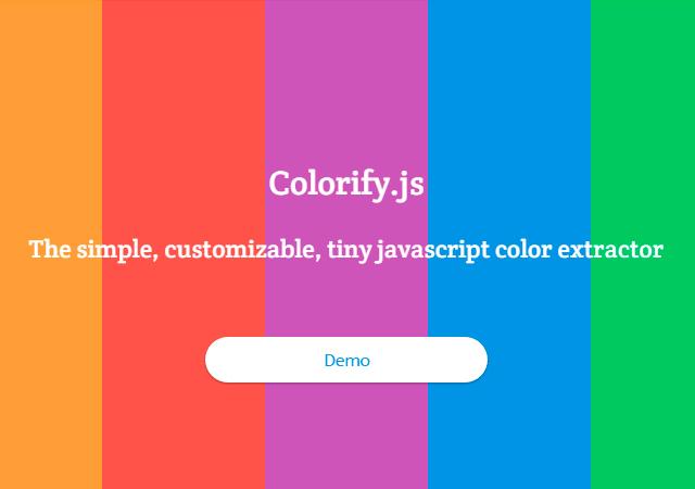 Colorify.js: Main Color Gradient Revealer