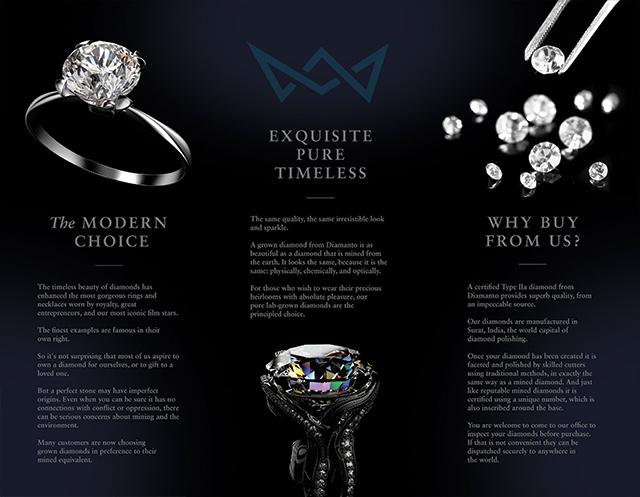Diamond Brochure Back