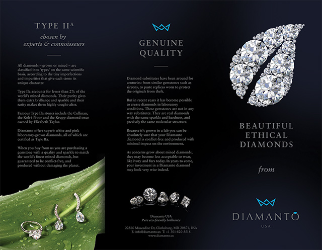 Diamond Brochure Front