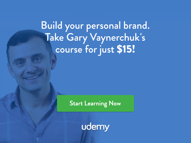 Build Your Personal Brand with Gary Vaynerchuk