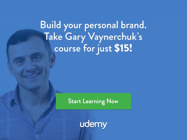 Gary Vaynerchuck Personal Branding