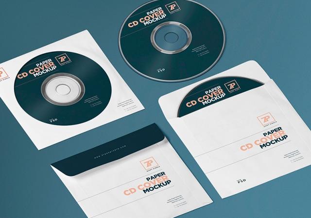 Isometric CD PSD Mockup Generator