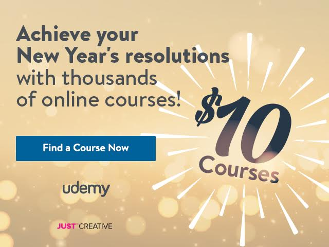 Udemy New Year Sale