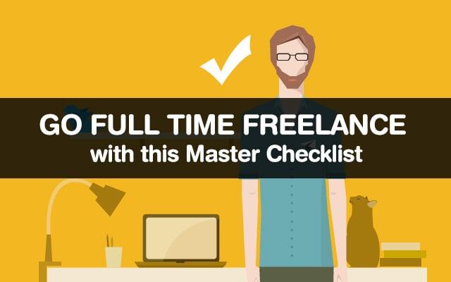 Go Fulltime Freelance