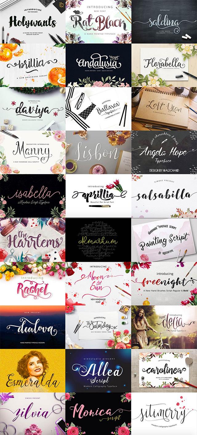 Logo & Lettering Font Bundles - 95% Off! | JUST™ Creative