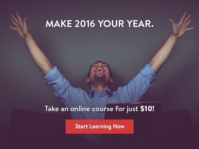 $10 Online Courses - Last Chance Ever!