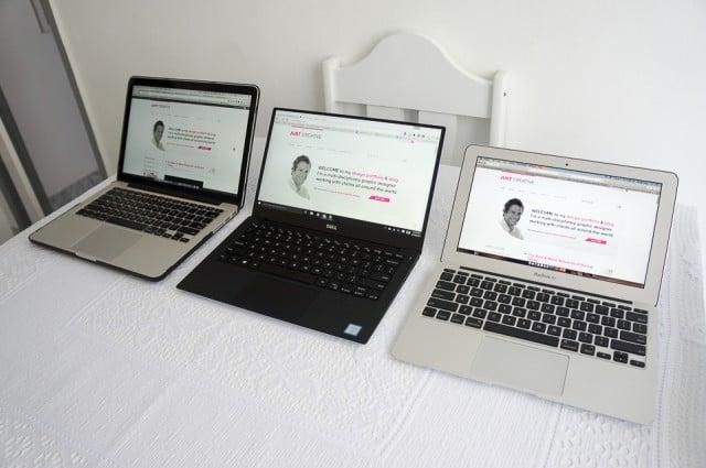 """Macbook Pro 13"""" (Mid 2014) VS Dell XPS 13"""" VS Macbook Air 11"""" (2012)"""