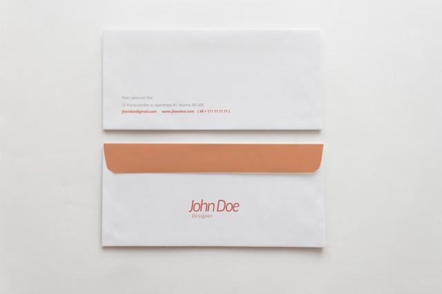 Free Envelope Branding Template Download