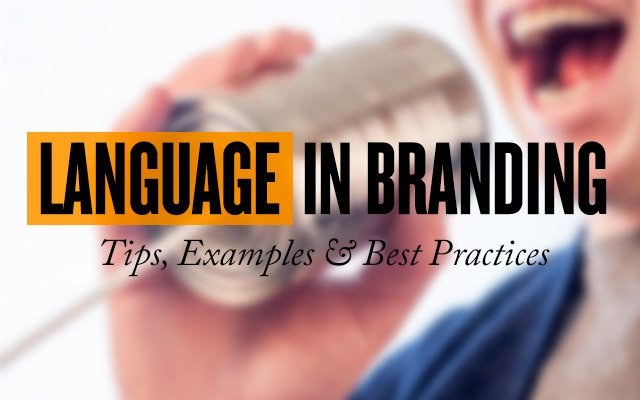 Language in Branding