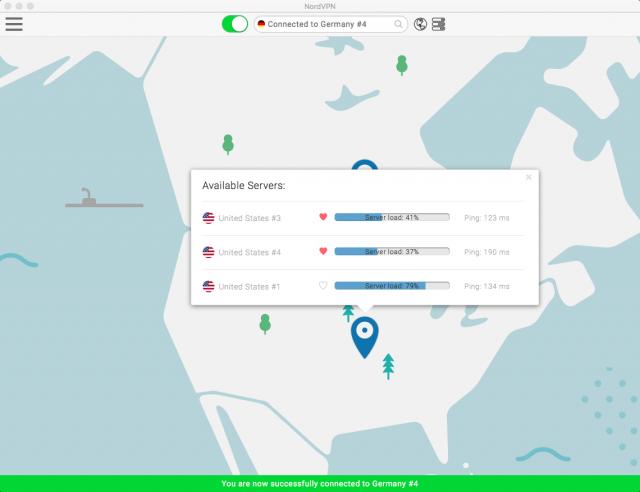 NordVPN Select Server