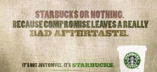 Starbucks No Compromise
