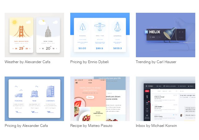 Collect UI: Daily Inspiration Collected Across the Web