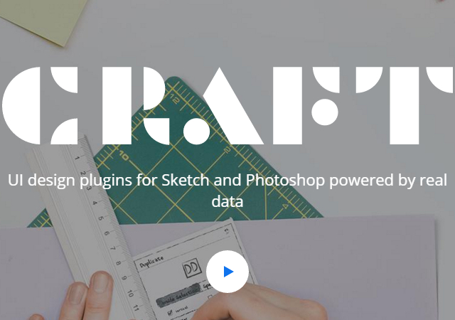 Craft: Sketch & PS Real Data UI Design Plugin