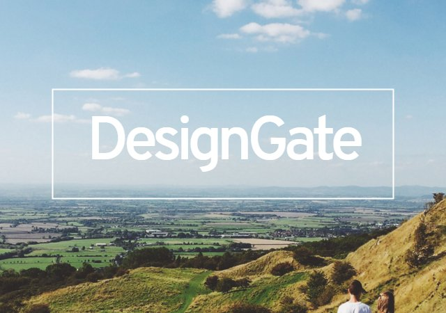 DesignGate: Clean, Responsive & Memorable UX Collection
