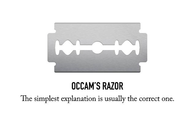 Occams Razor in Design