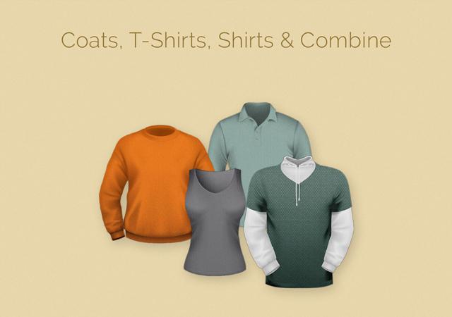 T-Shirt Branding Mockup Templates Pack