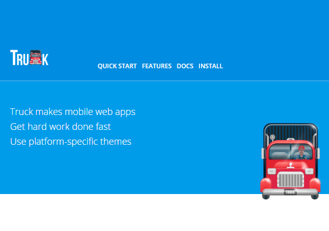 TruckJS: Making Mobile Apps Framework