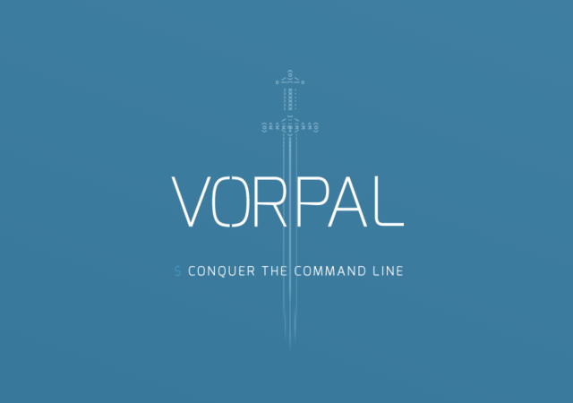 Vorpal: NodeJS CLI Applications Framework