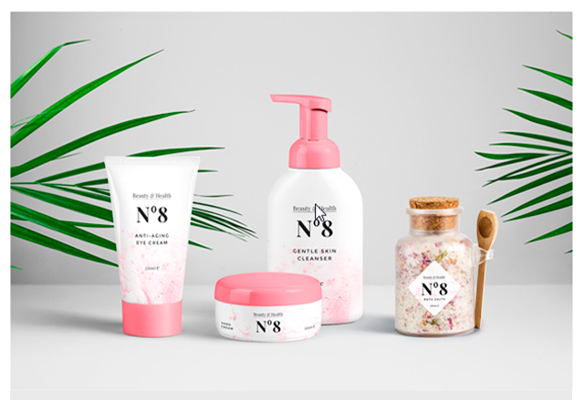 Cosmetic Packaging PSD Mockup Set