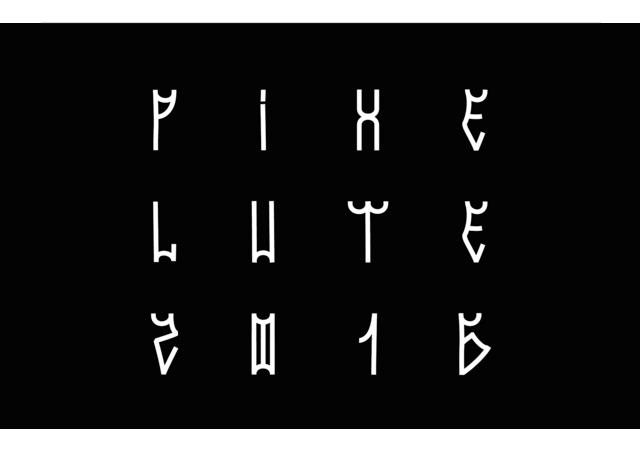 Pixe Lute: Nice Urban-like Font