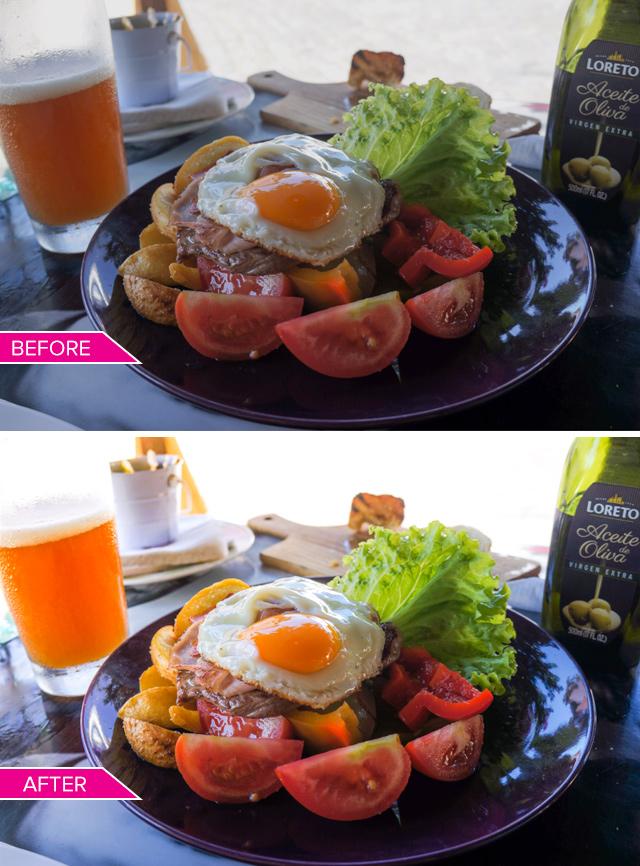 SleekLens Food Photography Preset