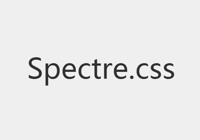 Spectre.css: CSS Framework Development