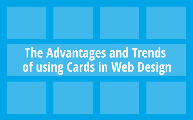 Web Design Cards Trends