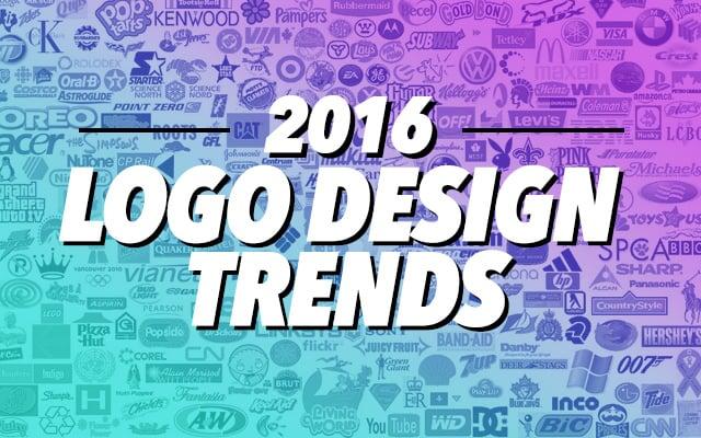 2016 Logo Design Trends Inspiration