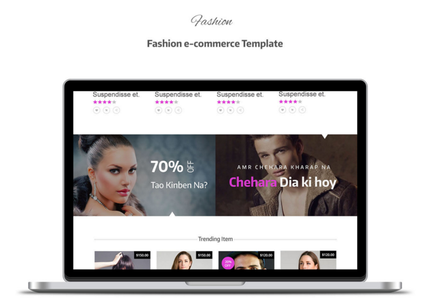 Fashion: ECommmerce Template
