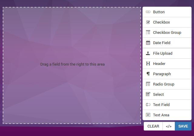 FormBuilder: Drag & Drop jQuery Form Creator