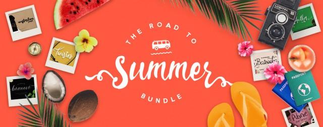 Road to Summer Fonts Bundle