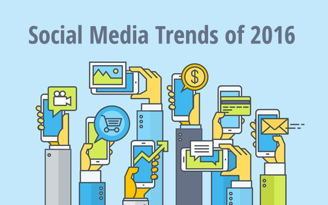 6 Social Media Trends to Help Shape your Marketing Strategy in 2016