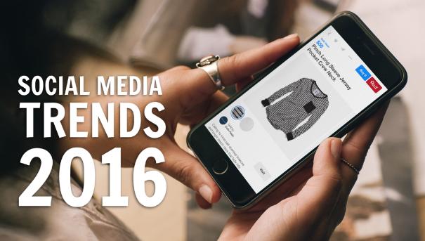 2016 Social media trends