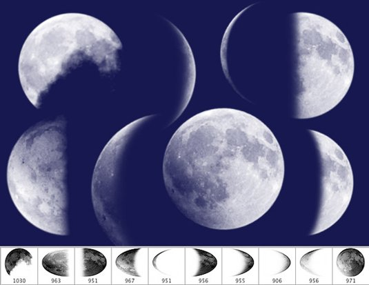TC magic spells moon