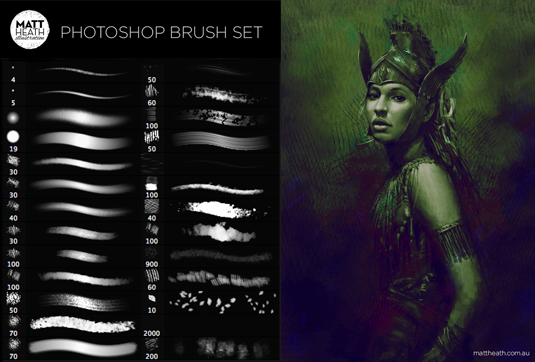 15 Free Fresh Photoshop Brush Sets for Download