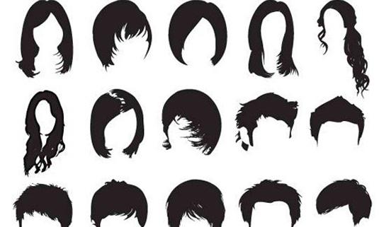 Hi-res Photoshop hair brushes