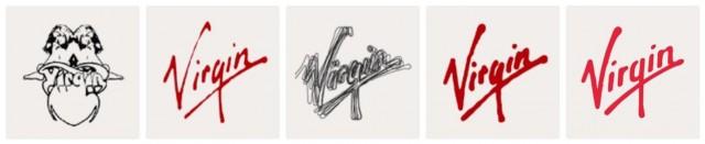 Virgin Logo Evolution