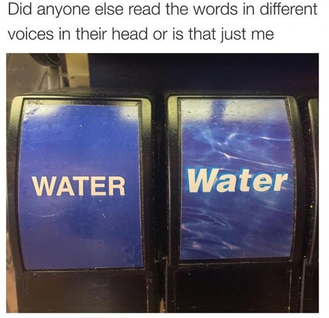 Water Graphic Design Meme