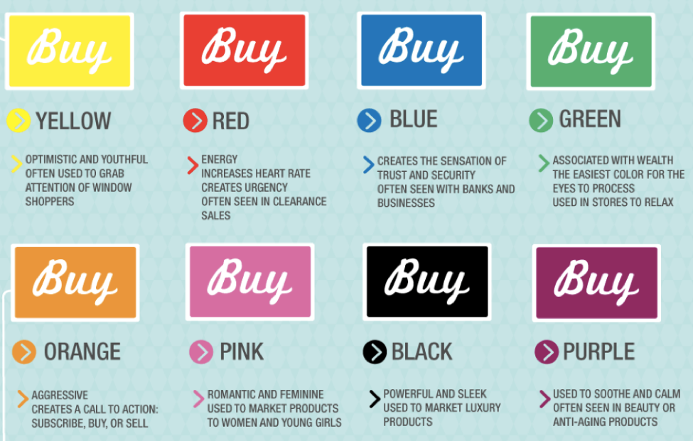 10 Tweaks - Use the psychology of color