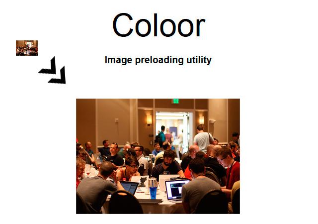 Coloor: HTML Image Preprocessor