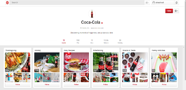 Coca Cola, one of the most influential and customer-engaging brands
