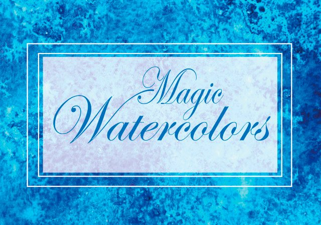 Magic Watercolor JPG Textures Bundle