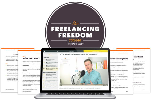 The Freelancing Freedom Course [Doors close Aug 30]