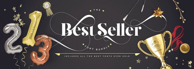 Best Selling Script Fonts