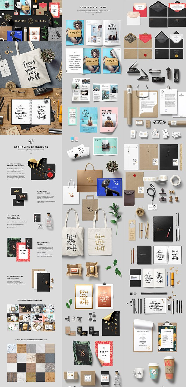 Mockup Bundle Grid