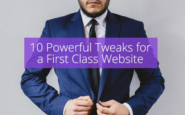 1St Class Website