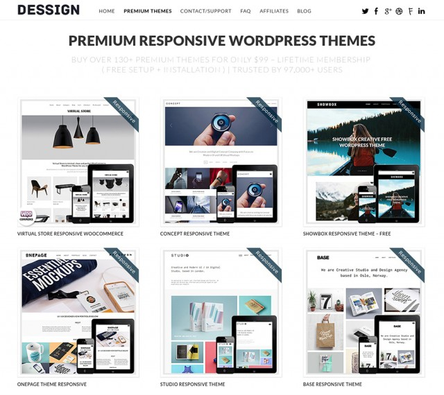 Enter to Win 130 WordPress Themes with 5 Lucky Winners