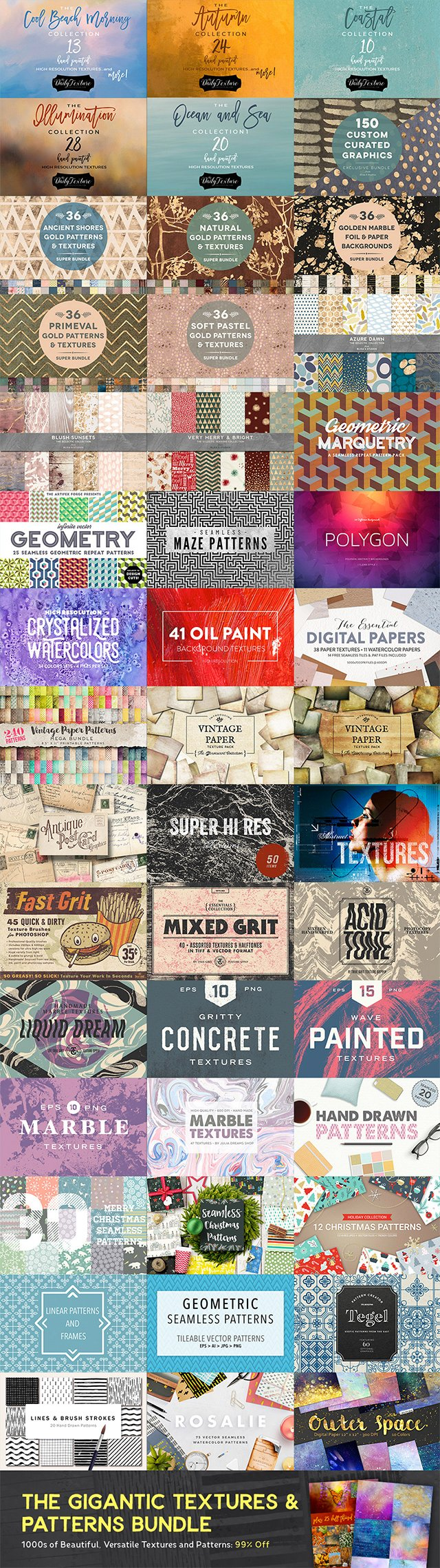 Textures Design Bundle