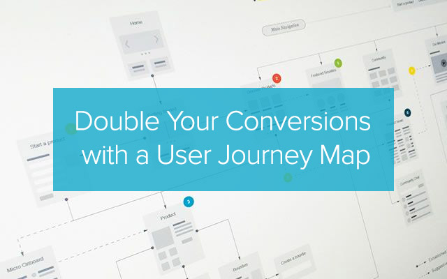 Double Your Conversions with a User Journey Map
